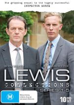 Lewis : Collection - Series 1 - 5 - Clare Holman