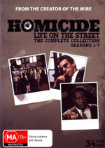 Homicide : Life on the Street - The Complete Collection (Seasons 1 - 7) (34 Discs) - Clark Johnson