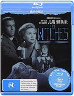 Hammer Horror : The Witches (BLR/DVD) - Joan Fontaine