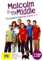 Malcolm in the Middle : The Complete Series (Volumes 1 - 4) - Frankie Muniz