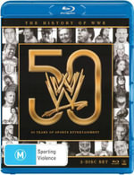 WWE : History of WWE - 50 Years of Sports Entertainment - Bret Hit Man Hart