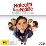 Malcolm In The Middle : Complete Series Collector's Edition (With Bonus T-Shirt) - Frankie Muniz