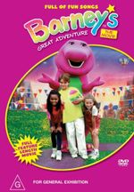 Barney's Great Adventure  : Full Of Fun Songs - The Movie : Full Feature Length Movie - Steve Gomer