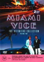 Miami Vice : The Definitive Collection : Volume 1 : 2 Disc Set - Belinda Montgomery