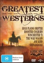 High Plains Drifter / Joe Kidd / Rooster Cogburn / Shenandoah / The War Wagon / Winchester '73 (6 Westerns)