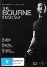The Bourne Trilogy (The Bourne Identity / The Bourne Supremacy / The Bourne Ultimatum) - Clive Owen