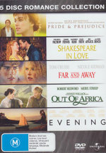 Evening / Far and Away / Out of Africa / Pride and Prejudice / Shakespeare in Love - Mamie Gummer