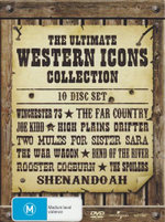 The Ultimate Western Icons Collection (10 Movies inc. High Plains Drifter) - Ruth Roman