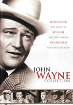 Hellfighters / Jet Pilot / Rooster Cogburn / Seven Sinners / The Spoilers / The War Wagon (John Wayne Collection) (6 Discs) - Randolph Scott