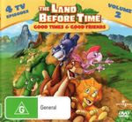 The Land Before Time : Volume 2 - Good Times and Good Friends (Handle Case)