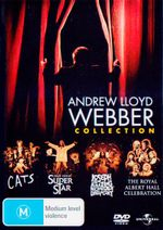 Andrew Lloyd Webber : Collection (Cats/Jesus Christ Superstar/Joseph and the Amazing Technicolor Dreamcoat/The Royal Albert Hall Celebration) - Andrew Lloyd Webber