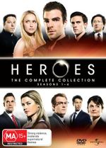 Heroes : The Complete Collection - Seasons 1 - 4 - Hayden Panettiere