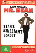Mr. Bean : Bean's Brilliant Boxset (Volumes 1 - 4) (4 Disc) - Rowan Atkinson