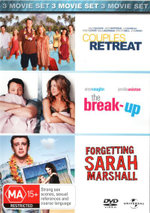 Couples Retreat / Forgetting Sarah Marshall / The Break Up - Malin Akerman
