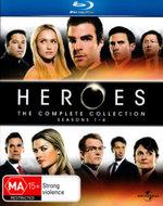 Heroes : Seasons 1 - 4 - Jack Coleman