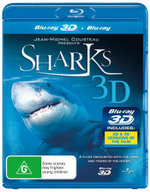 Sharks (3D Blu-ray/Blu-ray) - Jean Jacques Mantello