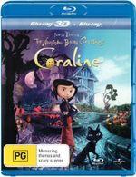 Coraline (3D Blu-ray/Blu-ray) - Dakota Fanning
