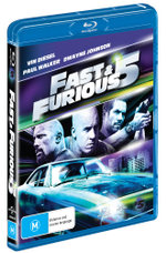 Fast and Furious 5 (Blu-ray/UV) - Dwayne Johnson