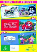 Guess with Jess : Volume 1 / Finley The Fire Engine: Volume 1 / Ben and Holly's Little Kingdom: Volume 1