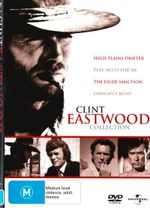 Coogan's Bluff / High Plains Drifter / Play Misty For Me / The Eiger Sanction (4 Movie Clint Eastwood Collection) - Donna Milburn