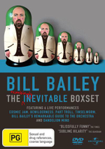 Bill Bailey : The Numbingly Inevitable Boxset (Dandelion Mind / Bewilderness / Cosmic Jam / Part Troll / Tinsleworm / Remarkable Guide to the Orchestra - Bill Bailey