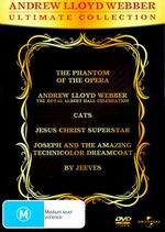 Andrew Lloyd Webber : Ultimate Collection (6 Discs inc. By Jeeves / Cats / Jesus Christ Super Star / The Phantom of the Opera) - Kiri Te Kanawa