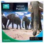 Elephant Puzzle  : BBC Earth 500 piece jigsaw puzzle - BBC Earth