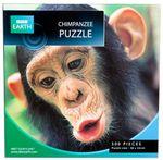 Chimpanzee Puzzle : BBC Earth 500 piece jigsaw puzzle - BBC Earth