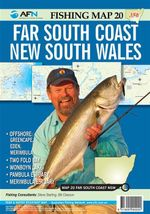 Far South Coast New South Wales : AFN Fishing Map 20 : AFN Fishing Maps - Bill Classon