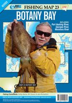 Botany Bay : AFN Map 23 : AFN Fishing Maps - Bill Classon