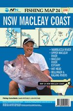 South West Rocks : AFN Fishing Map 24 : AFN Fishing Maps - Bill Classon
