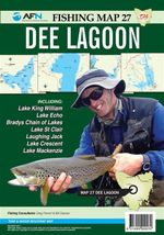 Tasmania Dee Lagoon : AFN Map 27 : AFN Fishing Maps - Bill Classon