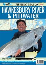 Hawkesbury River & Pittwater : AFN Fishing Map 29 : AFN Fishing Maps - Bill Classon
