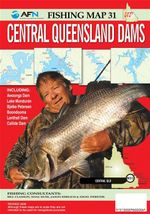 Central Queensland Dams : AFN Fishing Map 31 - Bill Classon