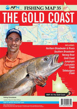 The Gold Coast : AFN Fishing Map 35 : AFN  Fishing Maps - Bill Classon