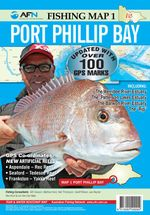 Port Phillip Bay : AFN Fishing Map 1 : Updated with over 100 GPS Mark - Bill Classon