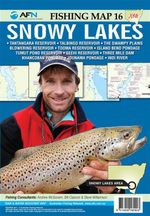 Snowy Lakes : AFN Fishing Map 16 : AFN Fishing Maps - Bill  Classon