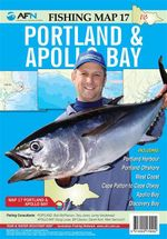Portland & Apollo Bay : AFN Fishing Map 17 : AFN Fishing Maps - Bill Classon