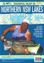 Northern NSW Lakes : AFN Fishing Map 18 : AFN Fishing Maps - Bill Classon