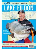 Lake Eildon : AFN Fishing Map 5 : AFN Fishing Maps - Bill Classon