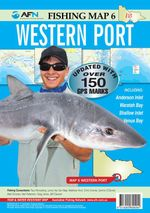 Western Port : AFN Fishing Map 6 : AFN Fishing Maps - Bill  Classon