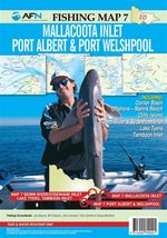 Mallacoota Inlet, Port Albert & Port Welshpool : AFN Fishing Map 7 - Bill Classon