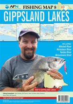 Gippsland Lakes : AFN Fishing Map 8 : AFN Fishing Maps - Bill Classon