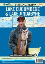 Lake Eucumbene & Lake Jindabyne : AFN Fishing Map 9 : AFN Fishing Maps - Bill Classon