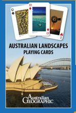 Australian Geographic Playing Cards : Landscapes - Australian Geographic