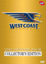 West Coast Eagles 1992 Collector's Victory Pack