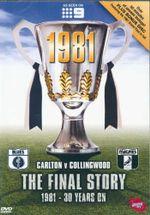 Final Story 1981 - 30 years on Carl : Carton vs Collingwood