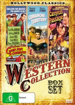 Classic Westerns Triple Pack : Comanche Territory / Canyon Passage / Gun for a Coward : 3 Box Set - Maureen Ohara