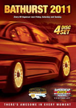 2011 V8 Bathurst Complete Race 4 Disc Set