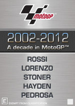 A Decade in MotoGP : 2002 - 2012 - Casey Stoner